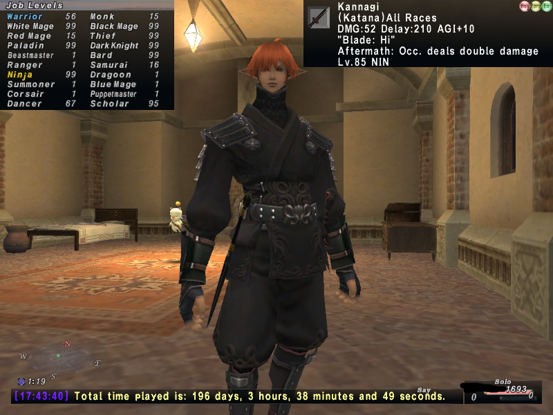 FFXI Account for Sale
